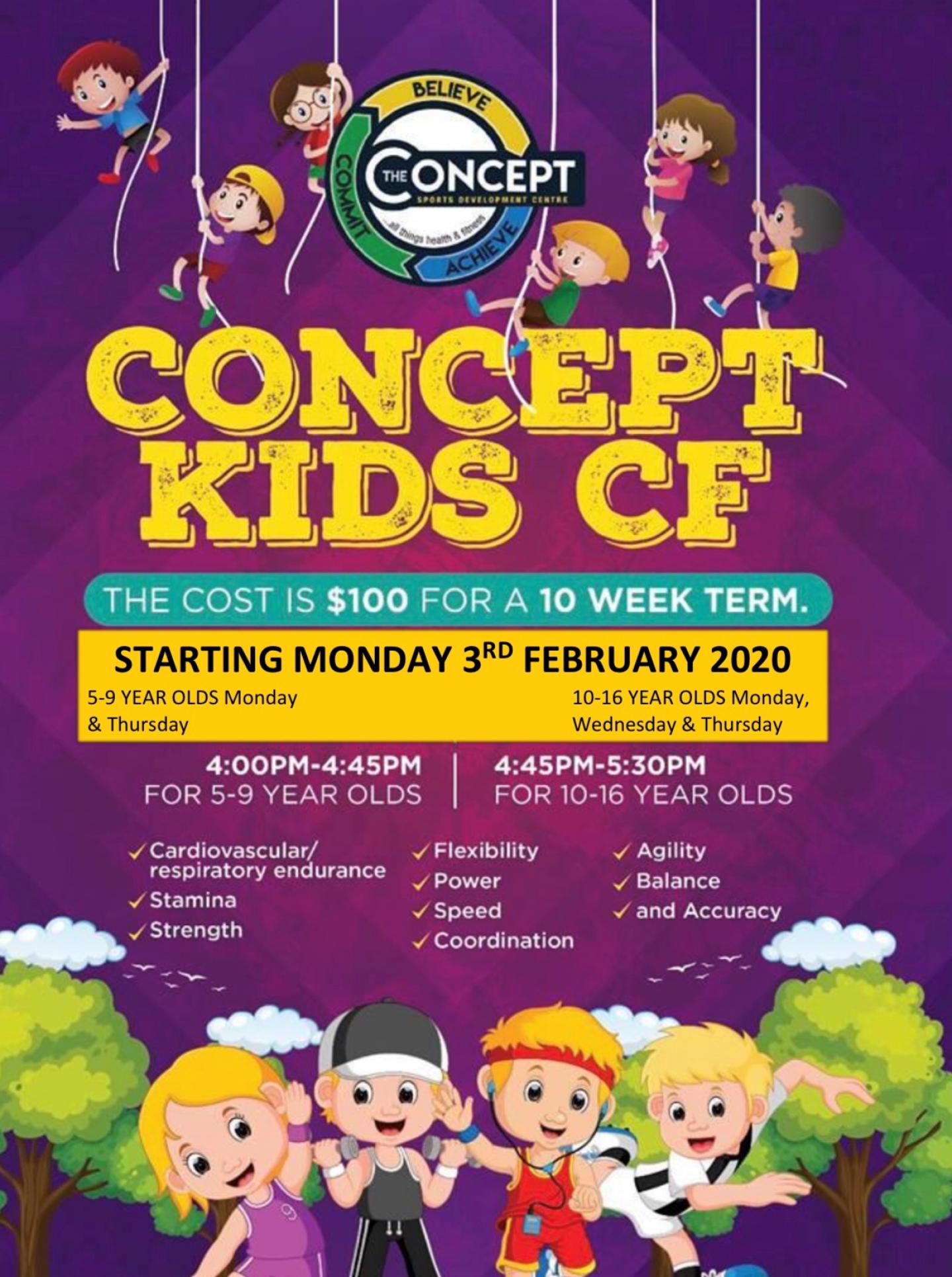 Kids Concept Fit